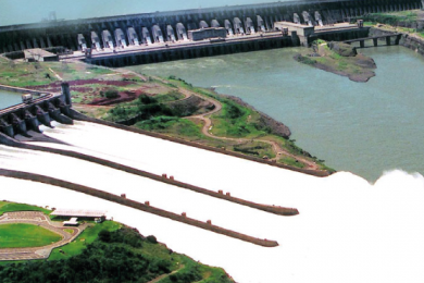 Serviços em Usinas Hidrelétricas e Barragens